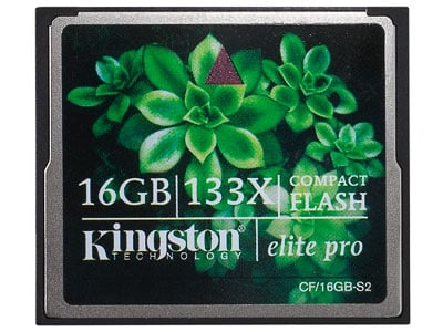 Kingston CF Elite Pro 16GB 133x CF-16GB-S2