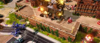 Screen z gry Command & Conquer: Red Alert 3