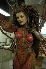 Model Kerrigan wykonany na BlizzCon 2008. Skala 1:1. Creepy.