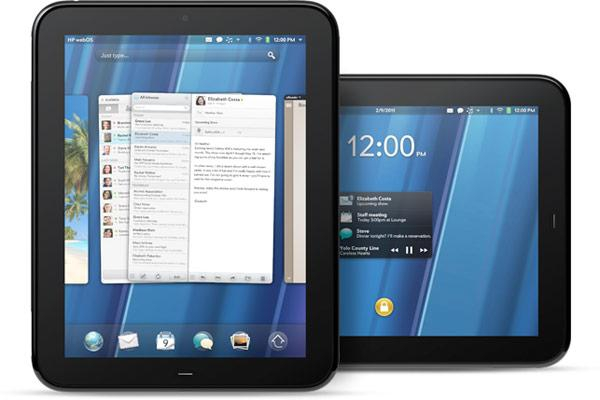 webOS na tablecie TouchPad