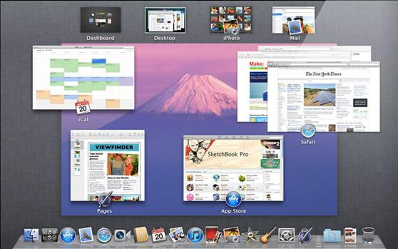 Mission Control w Mac OS X Lion