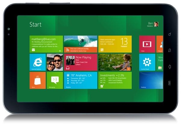 Windows 8 testowany na architekturze ARM