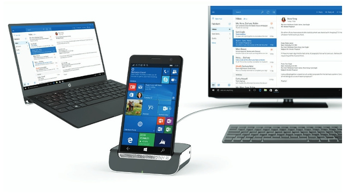 Nowiutki HP Elite x3 pracuje pod kontrolą Windows 10