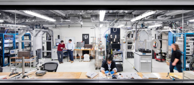 Laboratorium IBM Q Lab w T.J. Watson Research Center w Nowym Jorku (fot. Connie Zhou / IBM)