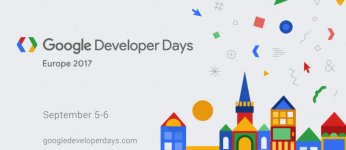 Google Developer Days Europe plansza informacyjna