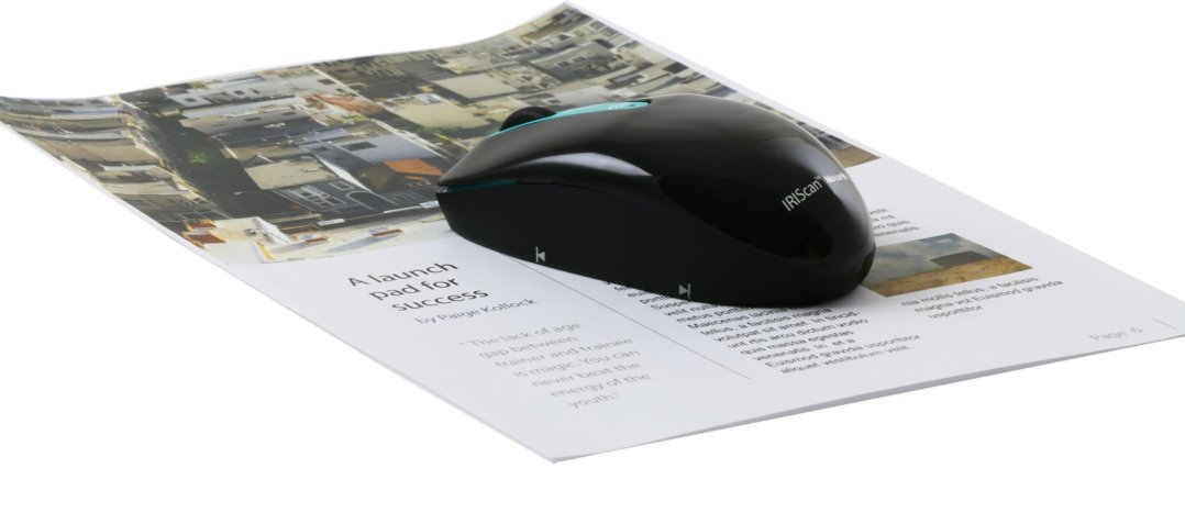 iriscan mouse