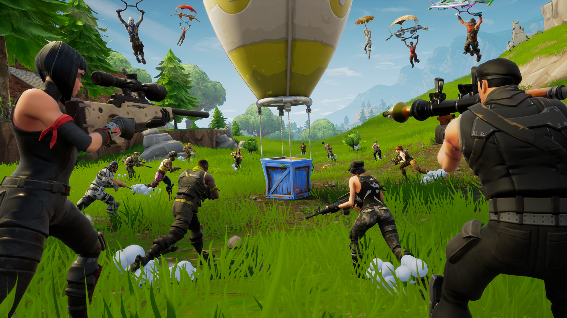 Fortnite for Android only from the Epic Games website