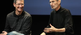 tim cook i steve jobs
