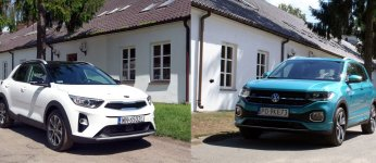 Kia Stonic & VW T-Cross